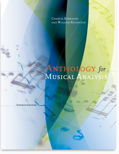 Book Cover Design Analysis : Anthology for music analysis